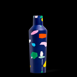 Trinkflasche Canteen Poketo 475 ml | Blaues Konfetti