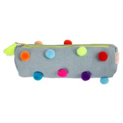 Pom-Pom Pencil Case