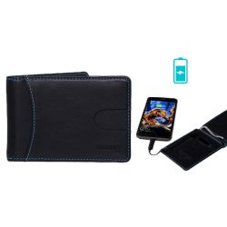 Power Wallet with Integrated Battery / Powerbank