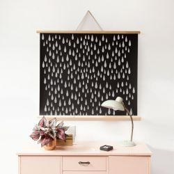 Magnetic Poster Chalkboard Large | Black