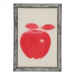 Art Print Red Apple