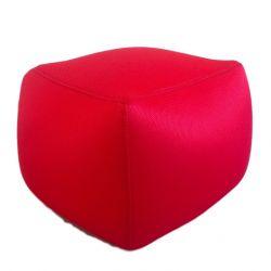 Pouf Cube 40 x 40 cm | Rouge
