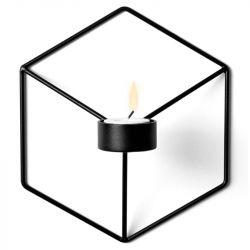 Kerzenständer POV Wand | Schwarz