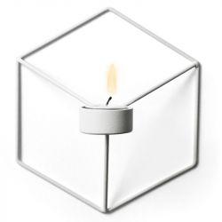 Kerzenständer POV Wand | Weiß