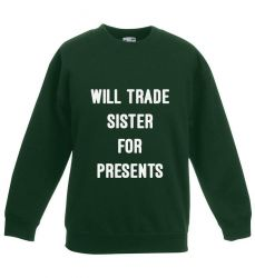 Kids Sweater Presents | Green