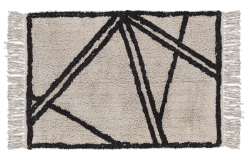 Rug | Natural & Black