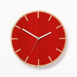 Primary Clock Cog | Red