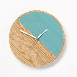 Primary Clock Half | Blue