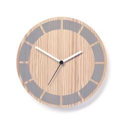 Horloge Primary Segment | Gris