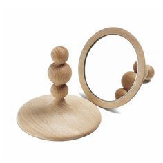 Princesse Table Mirror | Natural