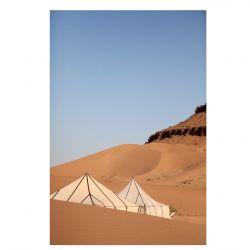 Print Tents in the Desert