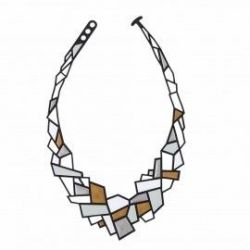 Ketting Prisms | Blauw, Rood & Wit
