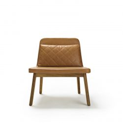 Lean Lounge Chair | Leather