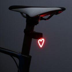 LED Bike Light | Heart