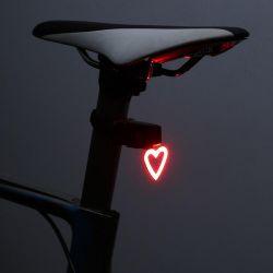 LED Bike Light | Heart