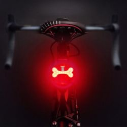 LED Bike Light | Dog Bone