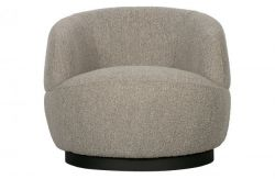 Swivel Chair Woolly | Natural