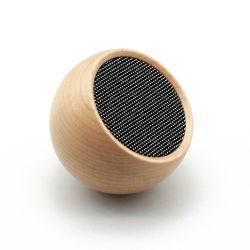 Selfie Bluetooth Lautsprecher Tumbler | Ahornholz
