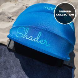 Sonnenschutz Premium mit Extras | Meerblau