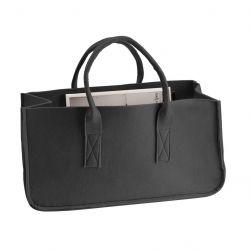 Zeitschriftenständer Tasche | Schwarz