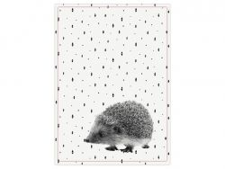 Tea towel | Hedgehog