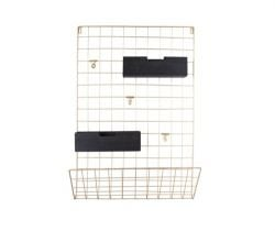 Memo-Rack-Raster | Gold