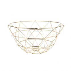 Basket Diamond Cut | Gold