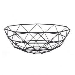 Basket Diamond Cut Large | Black