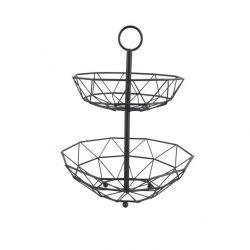 Fruit Basket Diamond Cut 2 Layers | Black