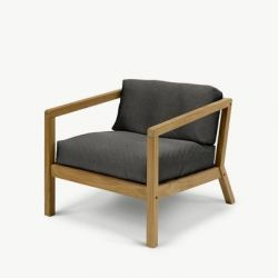 Outdoor Chair Virkelyst | Charcoal