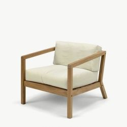 Outdoor Chair Virkelyst | Eggshell