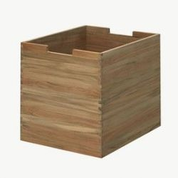 Cutter Box Large | Teak