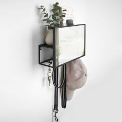 Hallway Organiser with Mirror