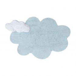 Washable Rug | Puffy Dream Blue