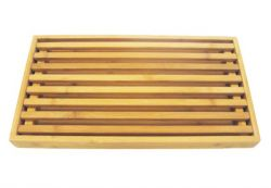 Brotschneidebrett 42,5x25x3,5 cm l Bambus