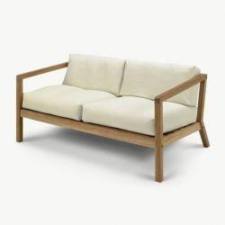 Outdoor-Sofa Virkelyst | Eierschale