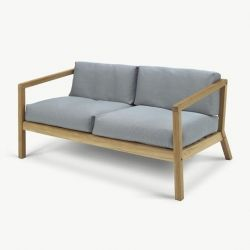 Outdoor-Sofa Virkelyst | Grau