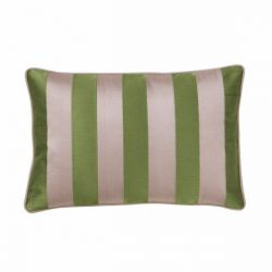 Cushion Cover Stripe | Fern