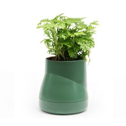 Self-watering Plant Pot Hill L | Green