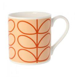 Mug Linear Stem | Tomato