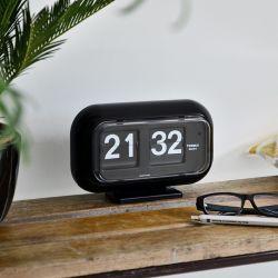 Flip Clock QT35 | Black