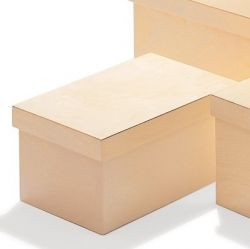 Rectangular Box Quadrella | Naturel