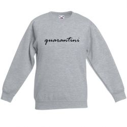 Unisex Sweater Quarantini | Grau