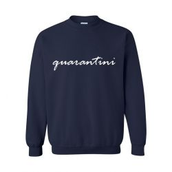 Unisex Sweater Quarantini | Blau