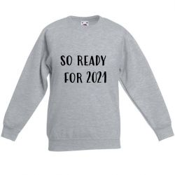 Unisex Sweater 2021 | Grau