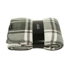 Fleeceplaid Hide Check | Dark Grey