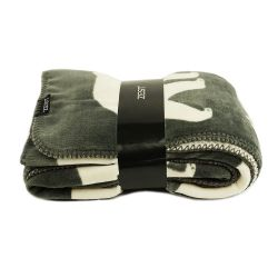 Fleeceplaid Hide Bear | Grey