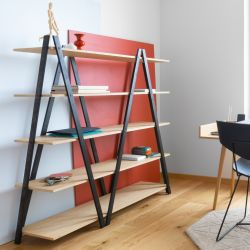 Shelf SIK-SAK | Black/Oak