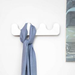 Wall Rack Drift | White