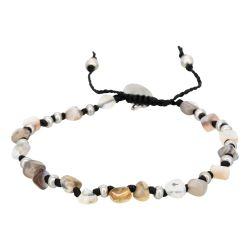 Armband mit Steinen | White Tiger
